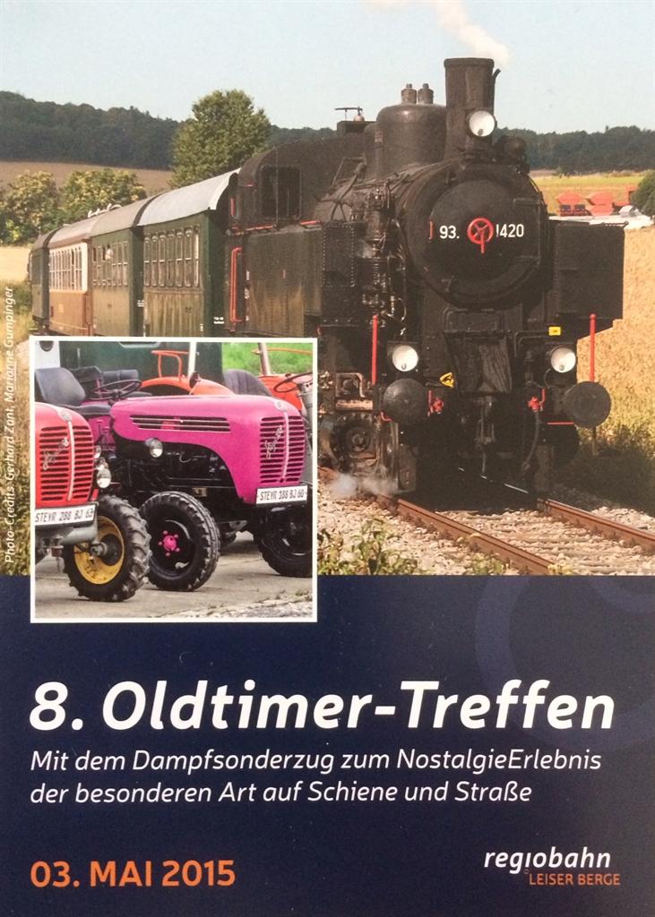 12. Oldtimertreffen auf Schiene und Strae - Marktgemeinde